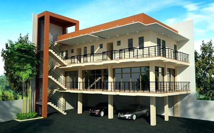 Three Storey Building Plans 3 Story Apartment Apartment 3 Storey