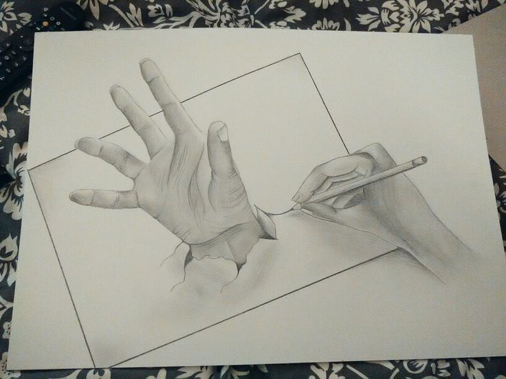 #drawinghands 3D