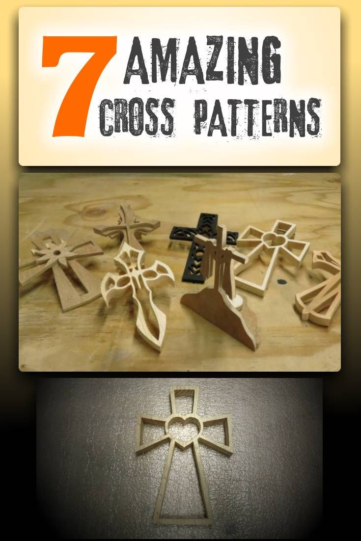 59 best scroll saw images on pinterest scroll saw patterns 7 amazing cross patterns ebook scroll saw fandeluxe Images