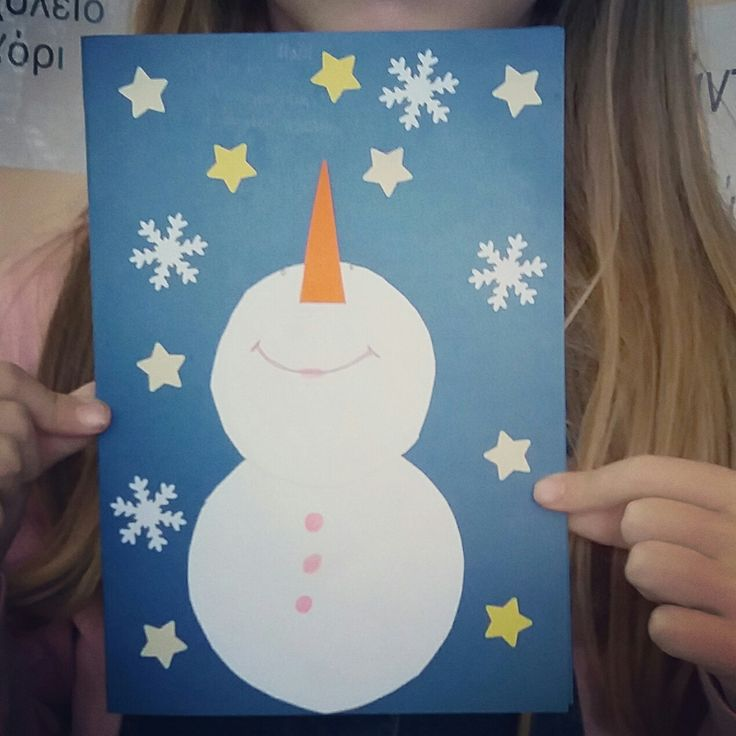 Merry frosty Christmas card craft...!