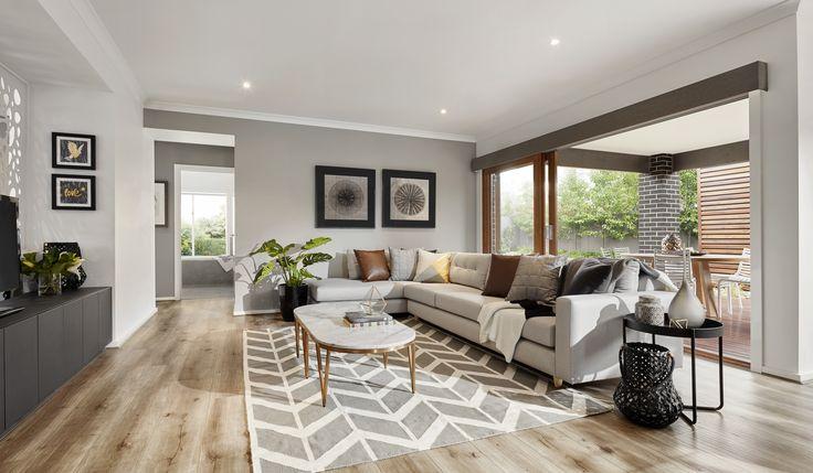Granvue Homes Premium Series - Melanite living area
