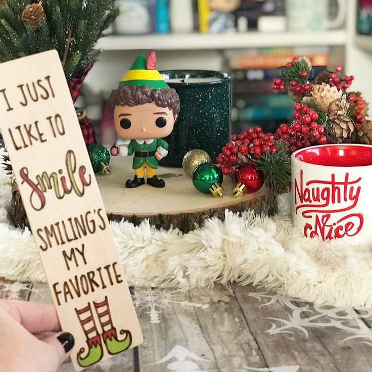 What kinds of things do you like to find in your stocking? . . I love chocolate lip balms bookmarks kitchen tools (like spatulas) and even little candles! Im on my way out to the store to buy stocking stuffers for the fam! Wish me luck! Its a jungle out there! . . Elf bookmark by the amazing @markedbymary . #lilbookishcheer - Stocking . #elf #elfmovie #christmasmovies #naughtyornice #holidayfeels #christmasvibes #markedbymary #bookmarks #bookstagram #ijustliketosmilesmilingsmyfavorite