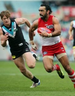 Bad news - Adam Goodes out for the next 6 weeks :(