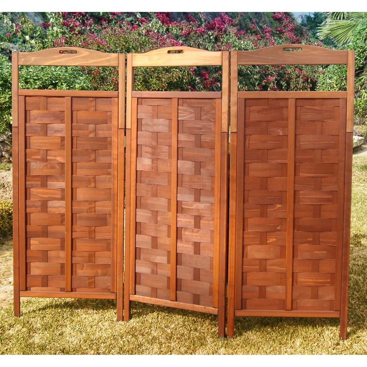 Have to have it. Best Redwood Lattice Outdoor Privacy Screen - $444.91 @hayneedle
