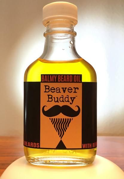 Beaver Buddy Balmy beard Oil™ for beards with benefits
