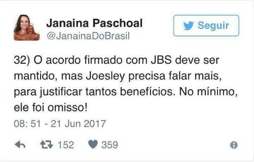 Janaína Paschoal denuncia: Lula é o verdadeiro dono da JBS Friboi – News Atual