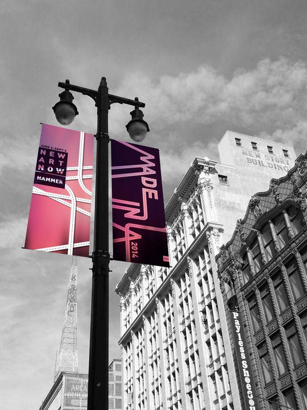 Street Pole Banner Design