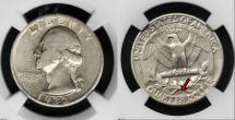 1932-S Washington Silver Quarter Key Date Coin - Photo courtesy of Teletrade Coin Auctions, www.teletrade.com