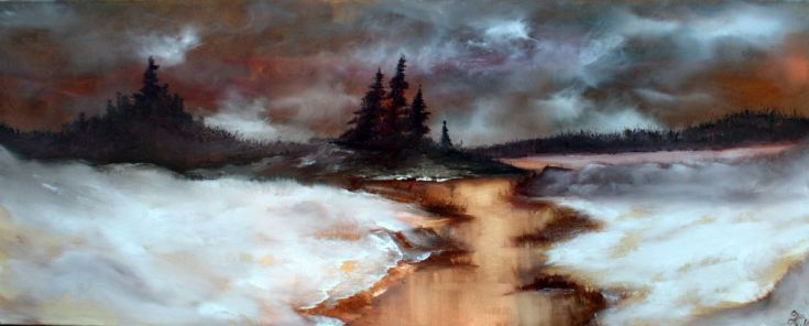 Buy Winter escape, Oil painting by Heidi Irene Kainulainen on Artfinder. Discover thousands of other original paintings, prints, sculptures and photography from independent artists.