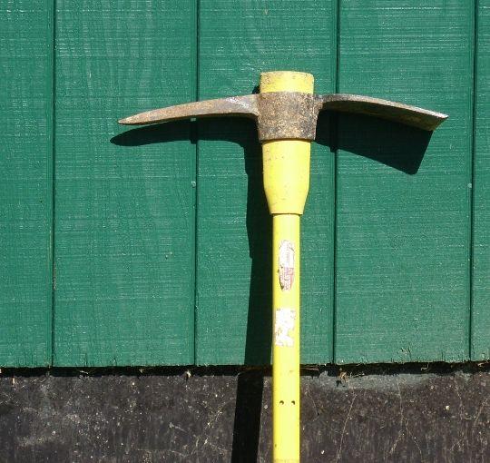 Garden Tools That I Use Pickax - News - Bubblews