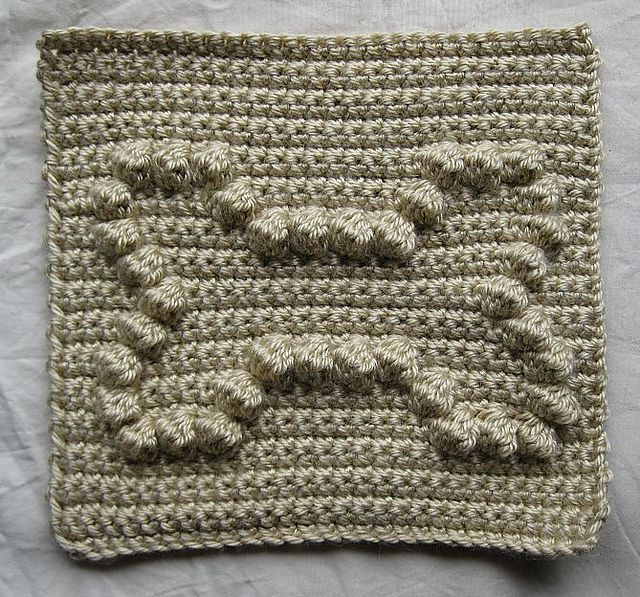 Free Crochet Bobble Stitch Afghan Patterns : 318 best AFGHAN BOBBLE/POPCORN SQUARES images on Pinterest