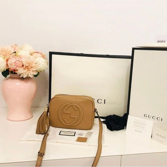 Pre Loved Gucci Soho Small Leather Disco Bag There Is A Bit Of