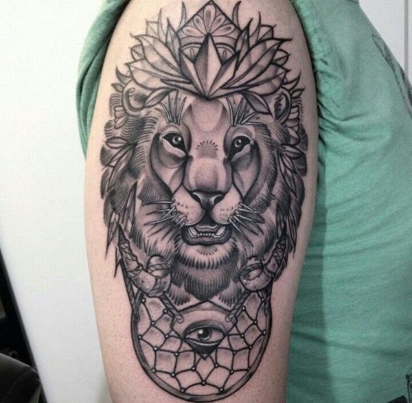 Pin By Mytorius On Believe Tattoo Men: 100 Mysterious Lion Tattoo Ideas To Ink With