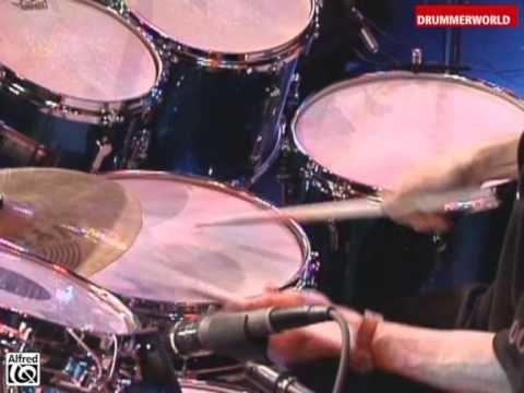 Jojo Mayer at the Modern Drummer Days 1998