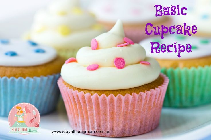 Basic Cupcake Recipe | Stay at Home Mum