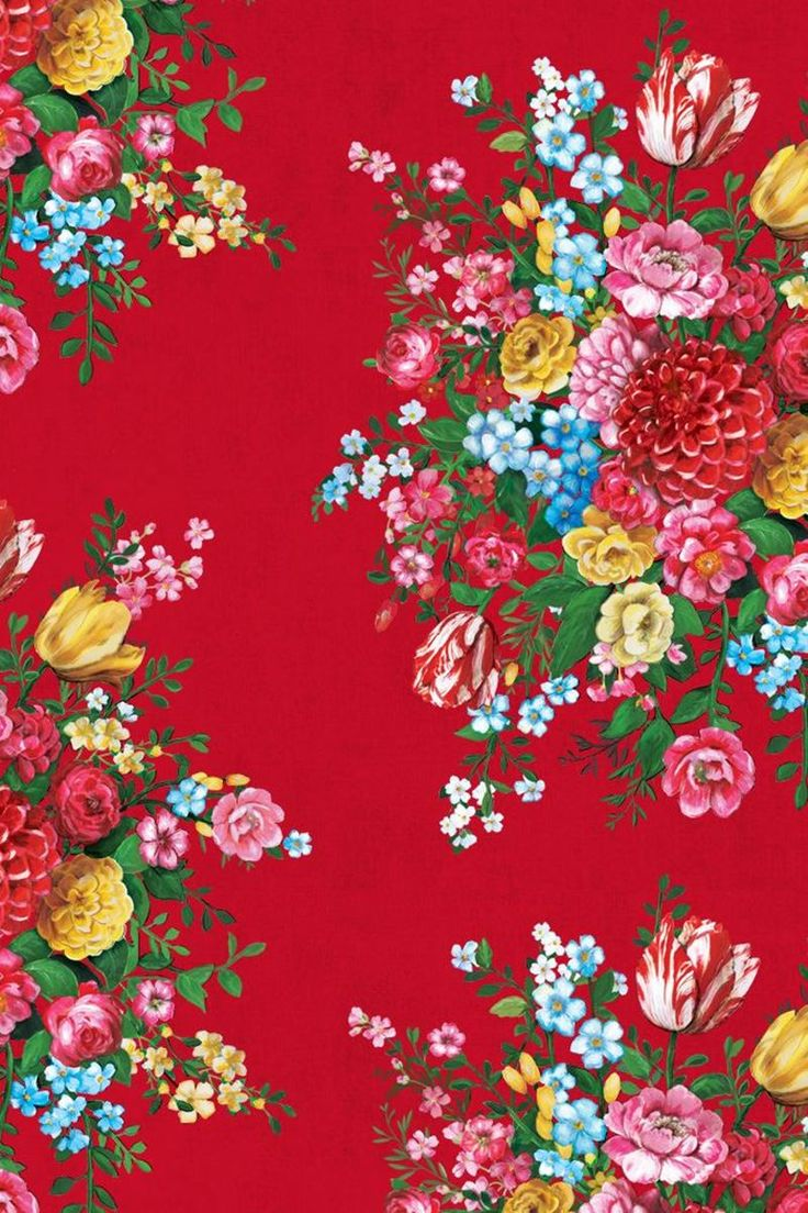 Dutch Painters Red wallpaper