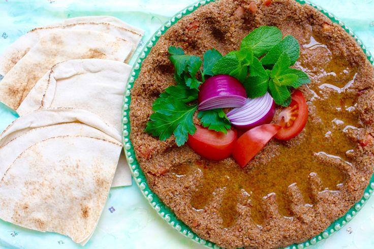 Kamounet banadora- Libanesisk vegan bulgurrätt