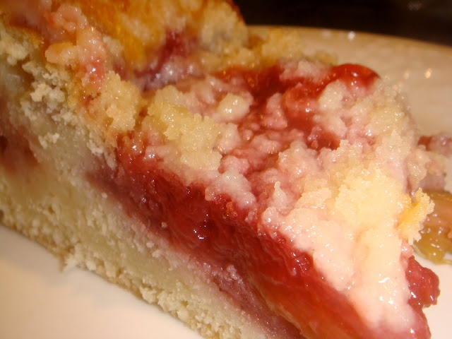 Strawberry-rhubarb coffee cake | Food | Pinterest