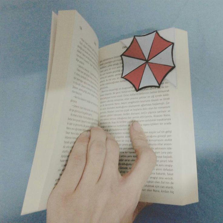 Residentevil Umbrellacorporation Bookmark Logo DIY Designer Kendinyap Me ... #residentevil #umbrellacorporation #bookmark #kendinyap #DIY #Designer #me