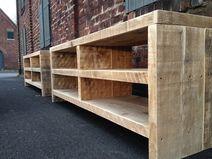 Bauholz Sideboard / Lowboard/TV-Möbel