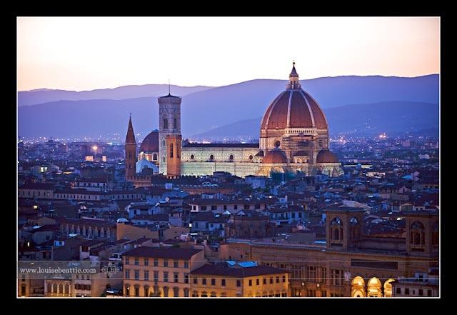 Firenze. I will return to you!