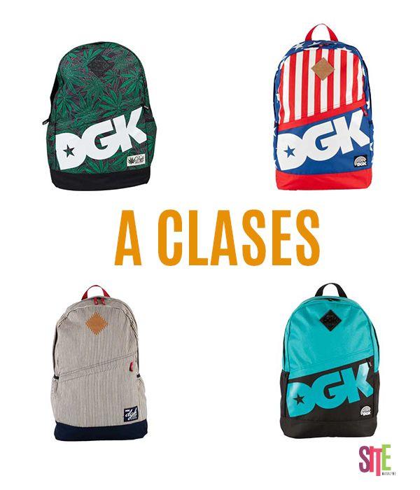 Chicos, el regreso a clases esta súper pronto acá les dejamos mochilas que podrán encontrarlas en Skate Outlet    #mochilas #sitemagazine