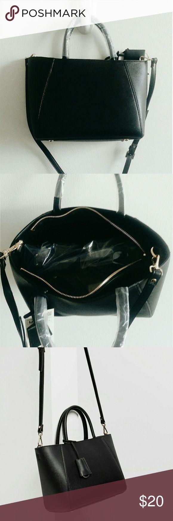 Tote Bag Black Zara Tote Bag, Unused with Tags. Zara Bags Totes