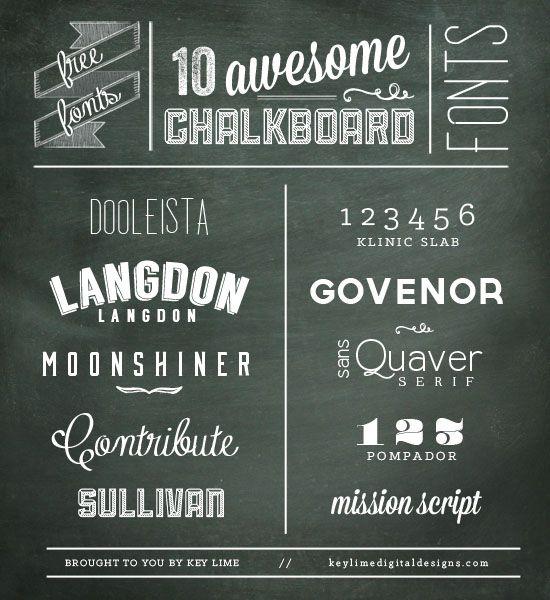 Best 25+ Chalkboard fonts ideas on Pinterest | Chalkboard writing ...