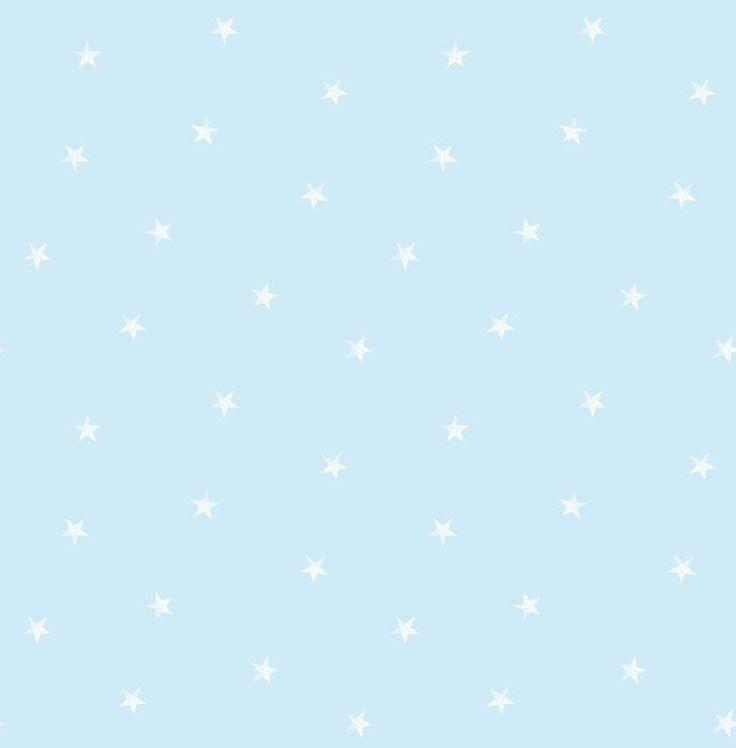 £9.29 Decorline Carousel DL21111 ditsy single stars blue white kids childrens bedroom