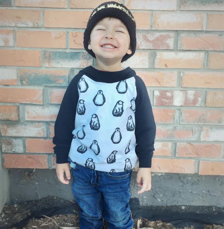 Finn & Grin Hoodie available in sizes preemie to 5T! Handmade in Canada! A portion of all sales is donated to the Alberta NICU!