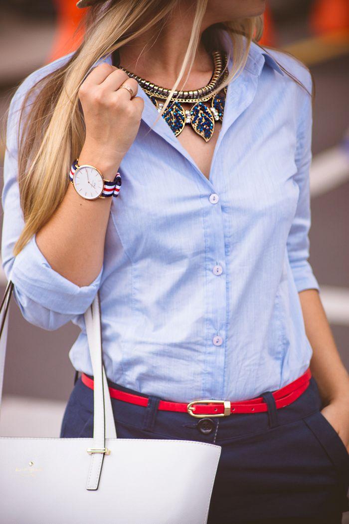 Olga choi fashion blogger myblondegal South Korea Kate Spade Harmony tote bag Choies necklace Daniel Wellington watch Blackfive espadrilles -01403