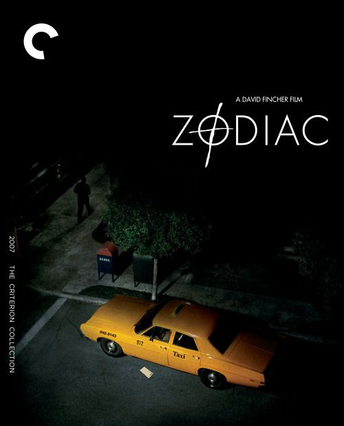 "I'm a big fan of Criterion's film choices and their elegant cover designs. Here is David Fincher's ""Zodiac"": understated, unnerving."