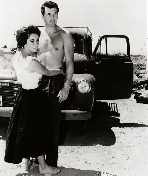 Rock hudson and elizabeth taylor movies