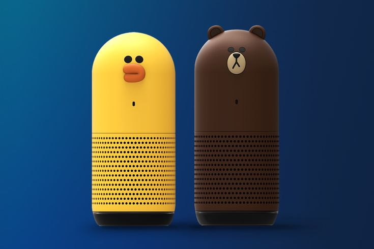 Message Sticker app, LINE, expands to verbal interaction & music streaming with Champ smart speakers