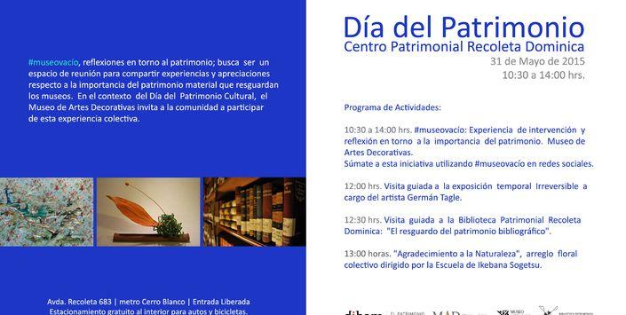 Programa Día del Patrimonio 2015