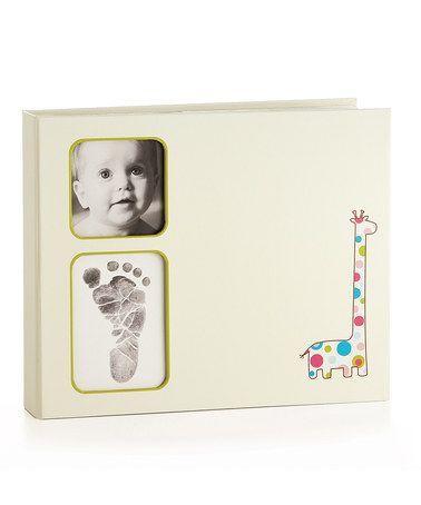 Ivory Giraffe Baby Keepsake Book by Pearhead #zulily #zulilyfinds