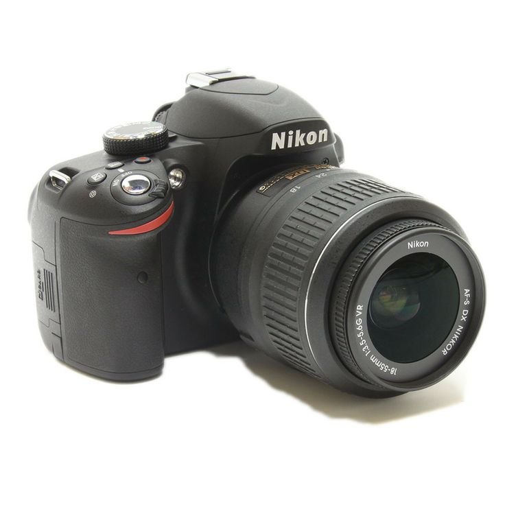 Nikon D Series D3200 24.2 MP Digital SLR Camera - Black (Kit w/ AF-S DX 18-55mm Lens) Buy It Now $521.99