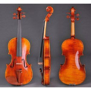 """Maple Wood Concert Violin with Case Vif BV720 4/4 Full Size by KOVAL INC.. $475.99. This BV750 series is simply handcrafted from the model of Antonio Stradivarius 1709 violin """"Viotti ex-Bruce"""". The one-piece maple back is unusual and distinctive and the maple back and top spruce have been natured dried for 8 years, the growth rings of these woods is extremely balance. By hand oil vanish finish with soft light spirit varnish, it features the powerful voice and improved sound proj..."""