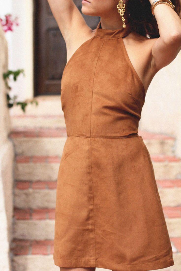 Vestido de chamois