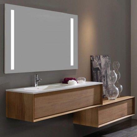 Meuble salle de bain Dokka 31 Iroko 1200mm