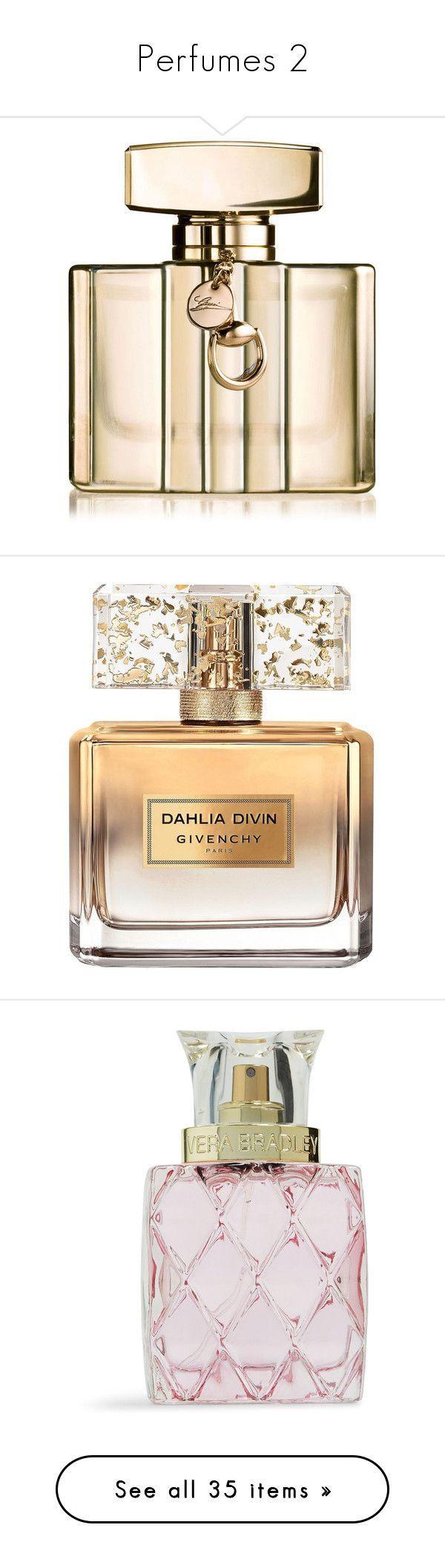 """Perfumes 2"" by livstephanovichi ❤ liked on Polyvore featuring beauty products, fragrance, edp perfume, blossom perfume, eau de parfum perfume, eau de perfume, gucci fragrance, perfume, beauty and makeup ***** More Info: www.dutyfreedepot.com/brandlist.aspx?brandsection=10&Intern=1opranda&bn=0"