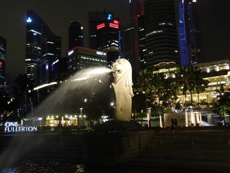 Singapore / Merlion / Joanna Łukasiewicz