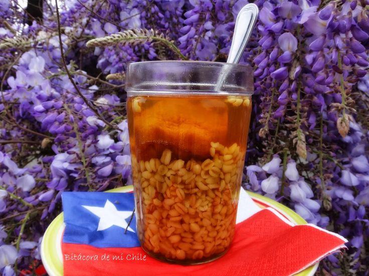 Bitacora de mi Chile: Mote con huesillos