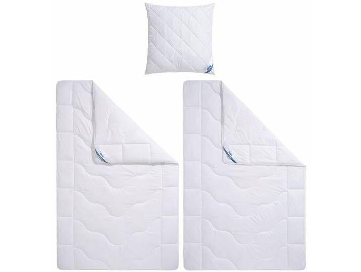 Beco Bettdecke Kopfkissen Cool Thermo Warm Material Fullung