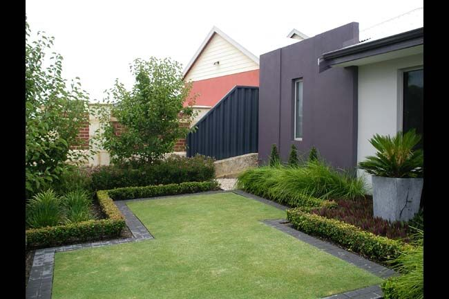 Mondo landscapes award winning landscape design in perth for Front yard garden designs australia