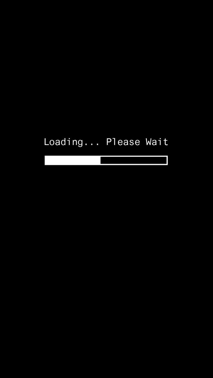 Sexy Loading Black Wallpaper Android Iphone