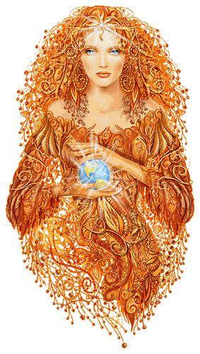 ^Earth goddess