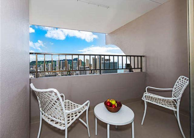 Royal Kuhio Ocean 1BD 31st Floor | Waikiki Condos | Oahu Vacation Rentals - Private Lanai