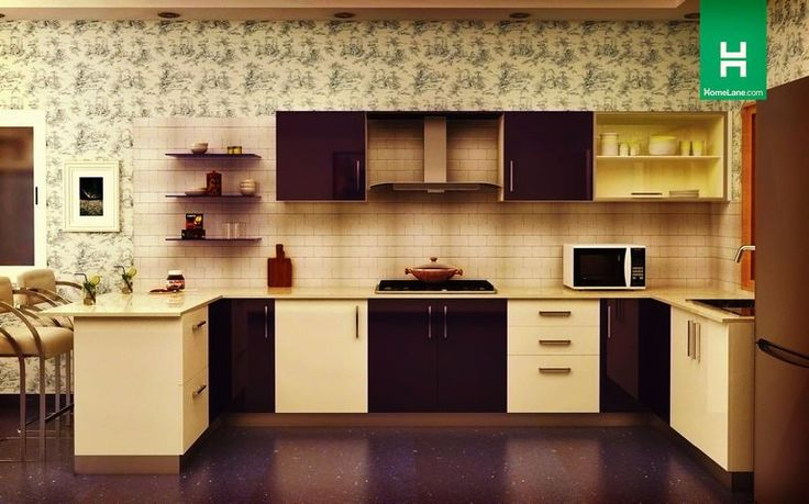 Robin Retro U-Shaped Kitchen | Retro style mixed with contemporary sensibilities. Absolute love!
