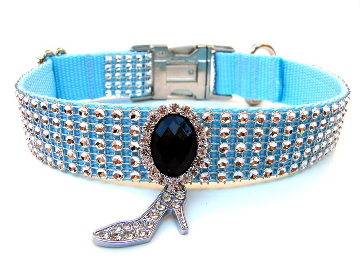 Cinderella Dog Collar Rhinestone Dog Collar Disney Dog Collar. $30.00, via Etsy.